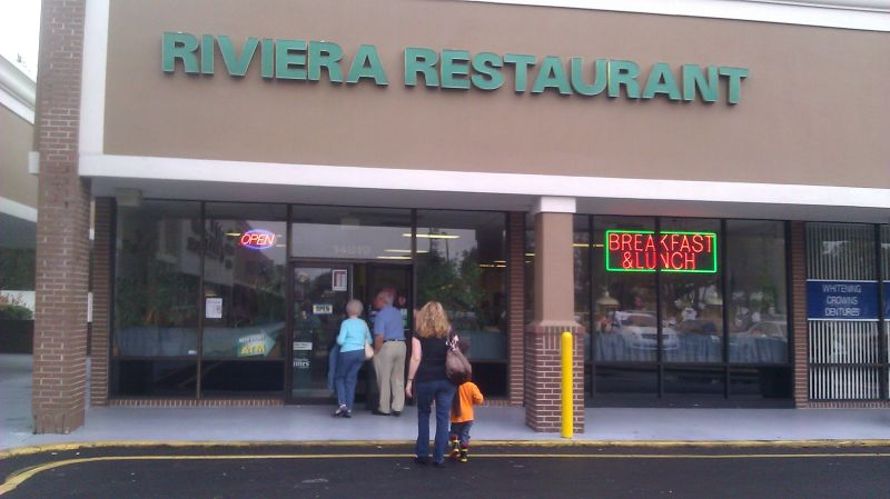 Riviera cafe tampa bay breakfasts for Michaels craft store tampa